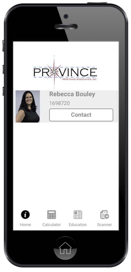 Rebecca Bouley Mobile Template